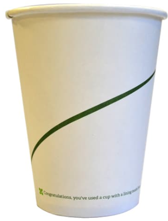 Sustain Single Walled Bio Hot Cup – Print – 12oz/360ml