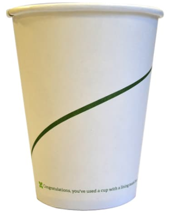 Sustain Single walled bio hot cup – Print – 16oz/500ml