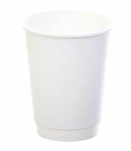 Sustain White Double Wall Bio Hot Cup – Plain – 16oz/500ml