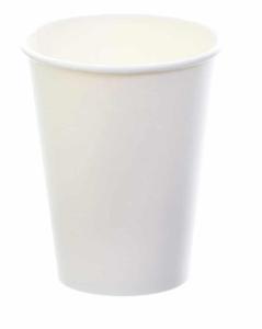Sustain White Single Wall Bio Hot Cup – Plain – 12oz/360ml