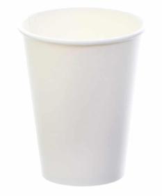 Sustain White Single Wall Bio Hot Cup – Plain – 6oz/170ml