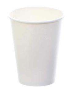 Sustain White Single Wall Bio Hot Cup – Plain – 8oz/240ml