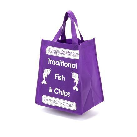 Take Away Bag with Webbing Handles