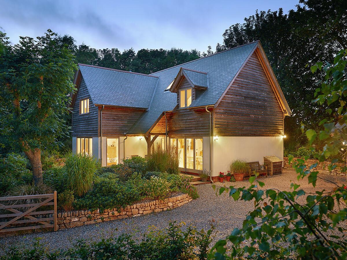 The barn home