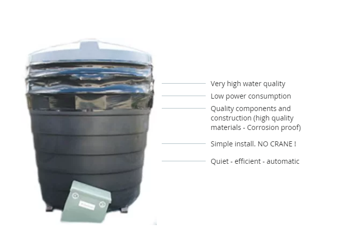 The Earthsafe D10 Wastewater Recycling System