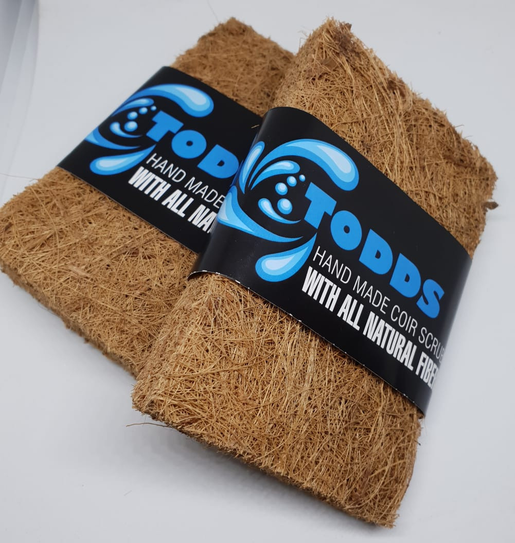 TODDS Hand made Coir Sponge