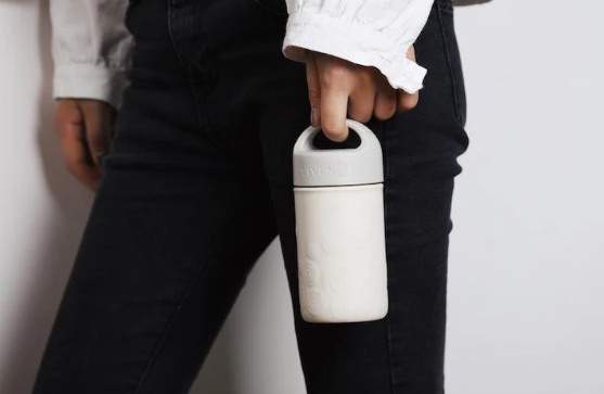 Tourmaline Ceramic Travel Mug