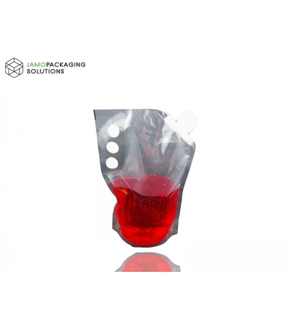 Transparent Stand Up Pouch with Spout