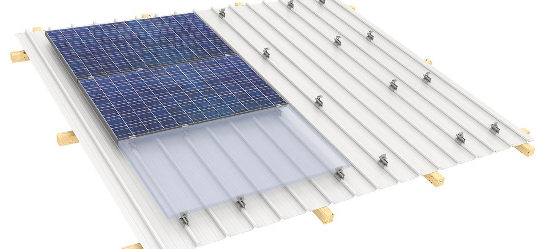 TRAPEZOIDAL Fixation on KLIP-LOK roof systems