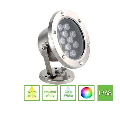 Underwater Flood Light - pond lights