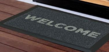 Upcycled Rubber Mats - Welcome Mats