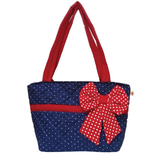 Valentina bag - Red & Blue