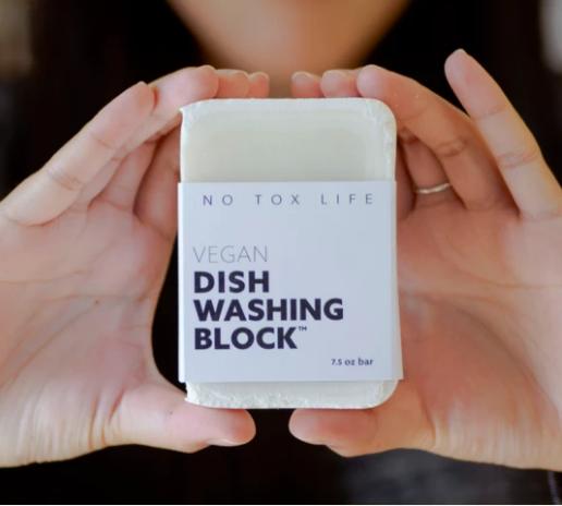 Vegan Dish Washing Block-Standard