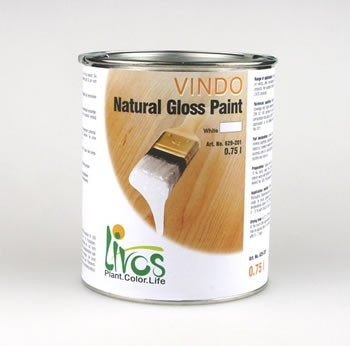 Vindo Natural Gloss Paint For Interior & Exterior