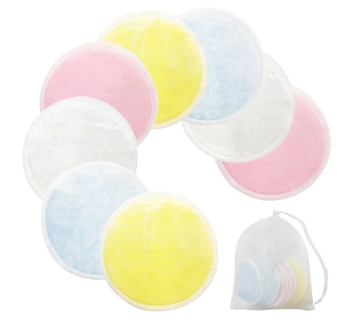 WASHABLE COTTON PADS 8PCS/SET