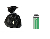 Waste and Recycling Container Sizes- Office Bin