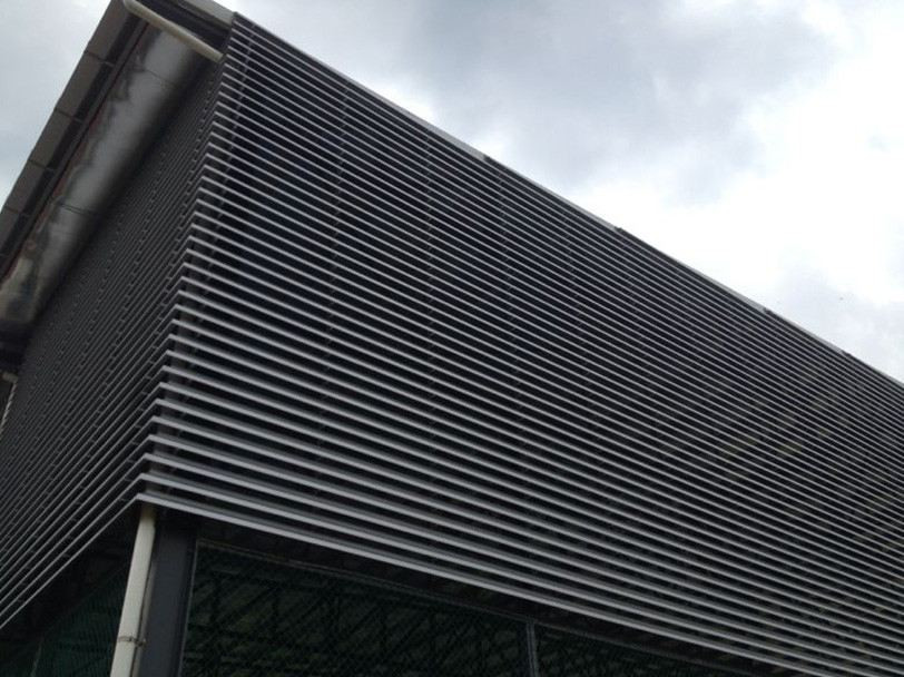 Weather shade and Ventilation louvres