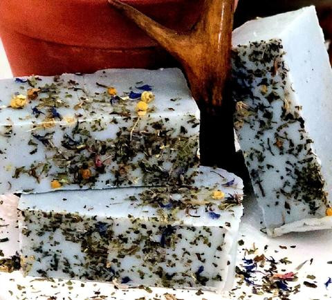 Witches Brew Organic Tea Infused Handmade Soap