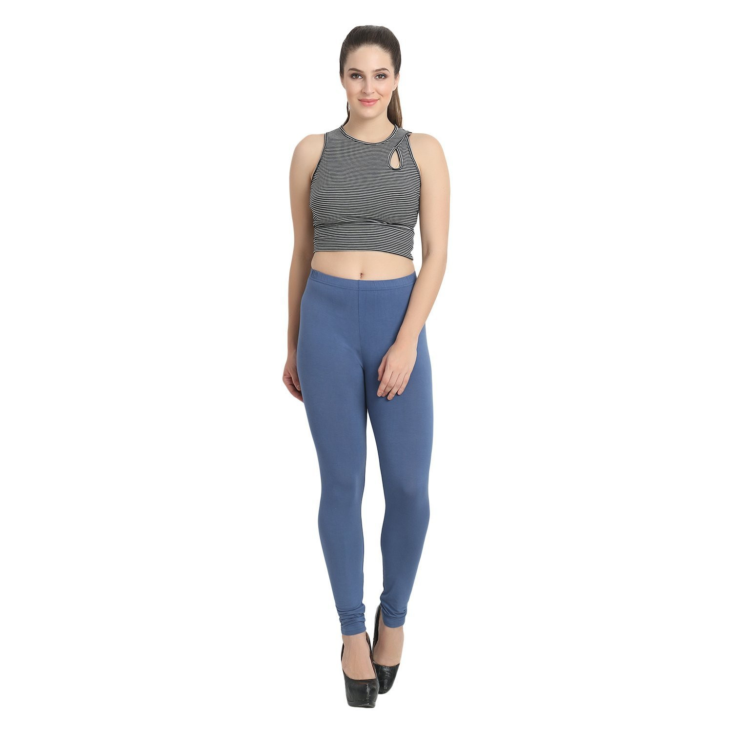 Women's Organic Bamboo Legging Blue