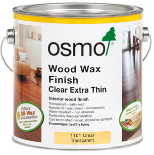 WOOD WAX FINISH CLEAR EXTRA THIN