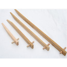 Wooden Stakes 300mm (Box Of 250) For Securing Membranes/Netting