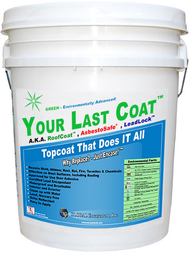 Your Last Coat™ - TopCoat that Does it All