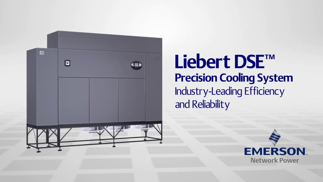 Liebert DSE high-efficiency precision cooling system