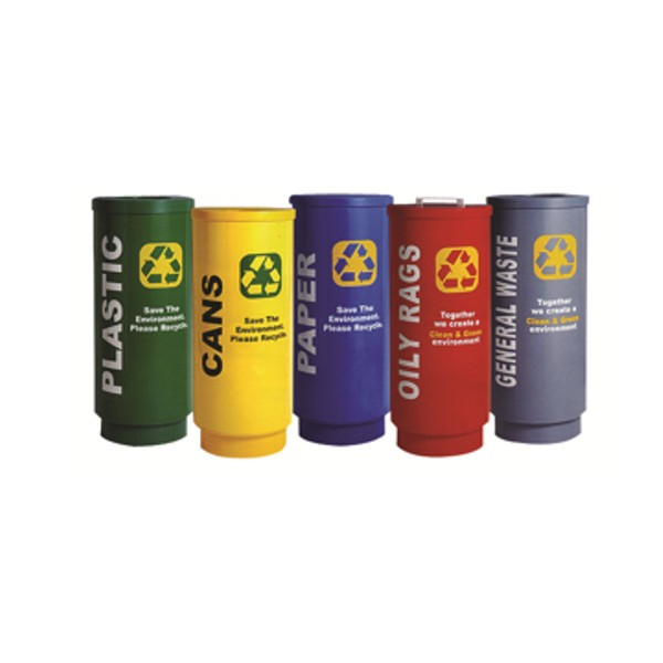 Rotomould recycling bin - Metric Series Bins