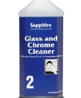 Sapphire #2 - Glass and Chrome