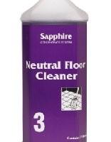 Sapphire #3 - Neutral Floor Cleaner