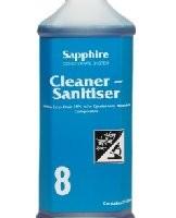Sapphire #8 - Cleaner - Sanitiser