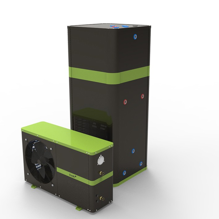 TIVOK 7.2kW Heat Pump With 420L Storage for Domestic and Commercial Applications