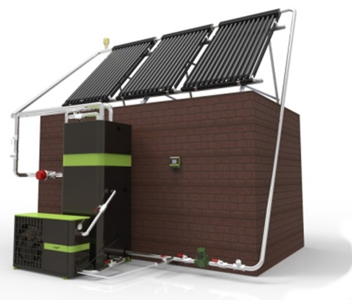 TIVOK 7.2kW Heat Pump for Domestic Applications with  Solar Option