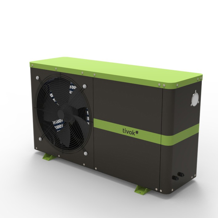 TIVOK Swimming Pool Heat Pump Range from 7kW -250kW