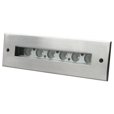 Waterproof recessed rectangular