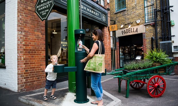 New fountains and bottle-refill points to tackle London's plastic waste