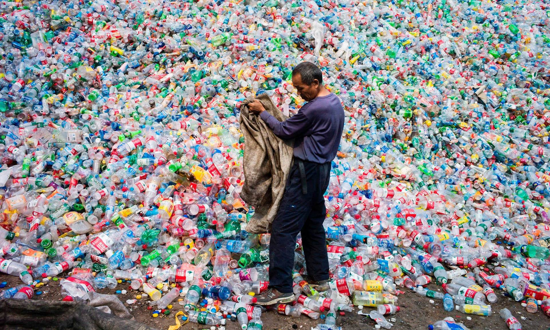 Scientists accidentally create mutant enzyme that eats plastic bottles