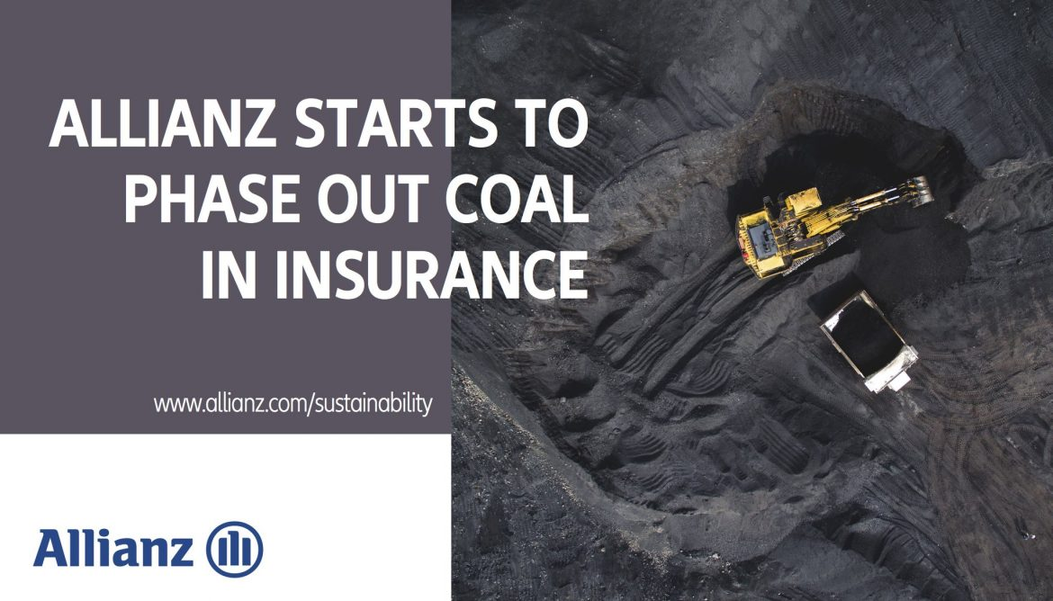 Leading Insurer Allianz Ceases Insuring Coal Plants & Mines