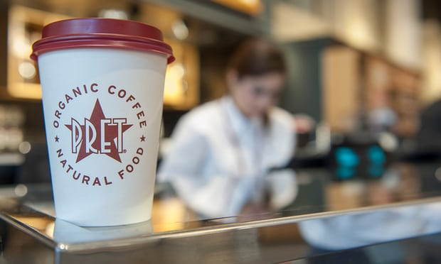 Pret a Manger doubles discount for bringing reusable coffee cups