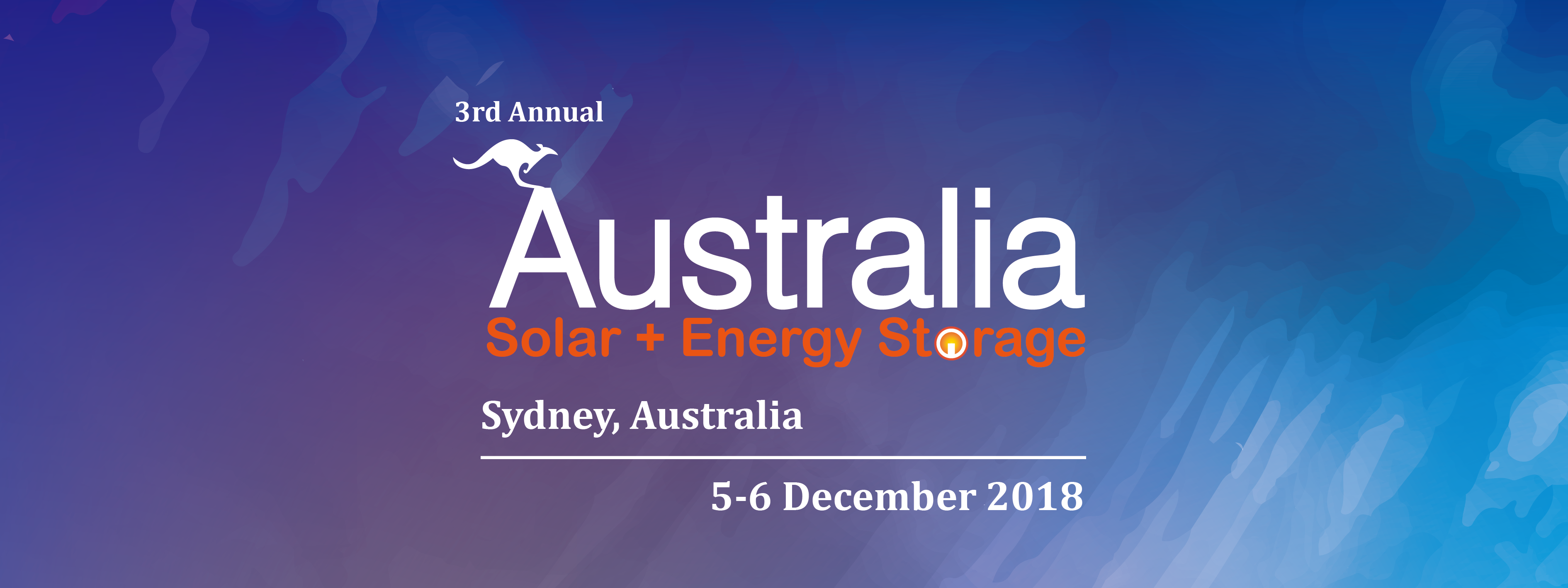 3rd Australia Solar + Energy Storage Congress & Expo 2018