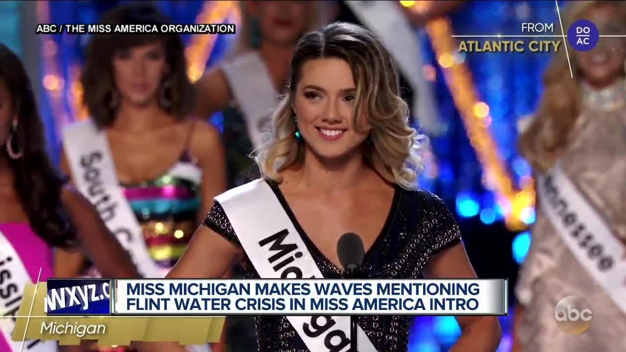 Miss Michigan Slams State for Flint Water Crisis During Miss America Contest