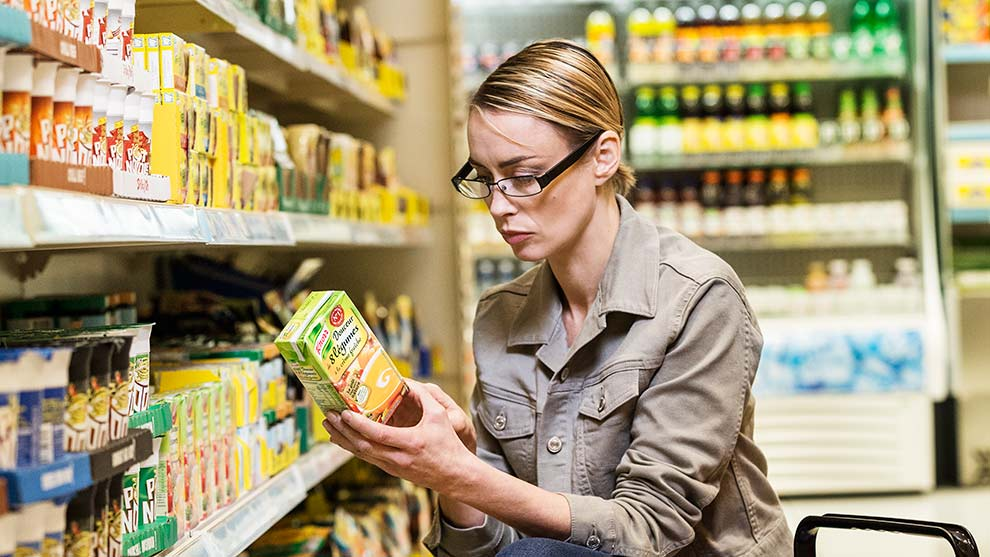 Labeling Food Based on Its Environmental Impact Could Change the Way We Grocery Shop