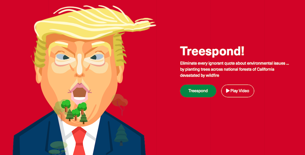 This Site Helps You Plant a Tree Every Time Trump Tweets Something Wrong About Climate Change
