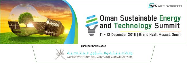 Oman Sustainable Energy and Technology Summit