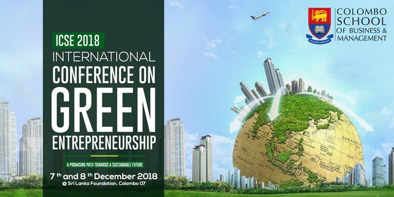 International Conference on Green Entreprenurship