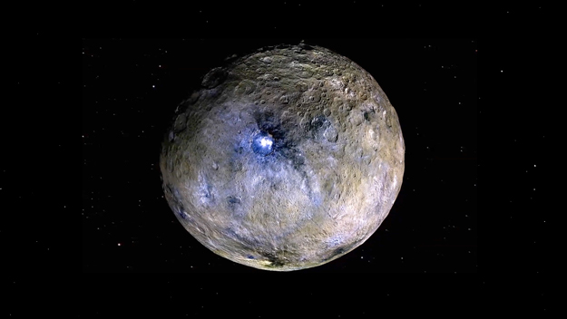 Evidence for carbon-rich surface on Ceres