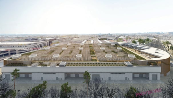 Paris Is Building the World's Largest Organic Rooftop Farm