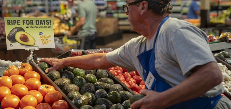 Kroger cut food waste 9% in 2018