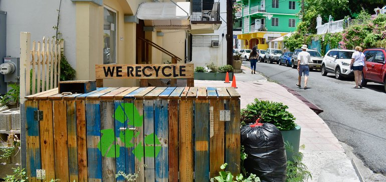 How one island territory is getting creative with upcycling and reuse