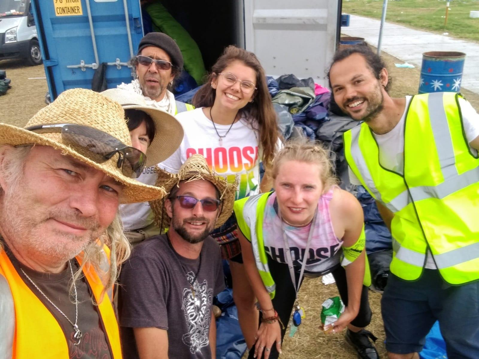 These Charities Found a Genius Way to Use Festival Leftovers to Help Refugees